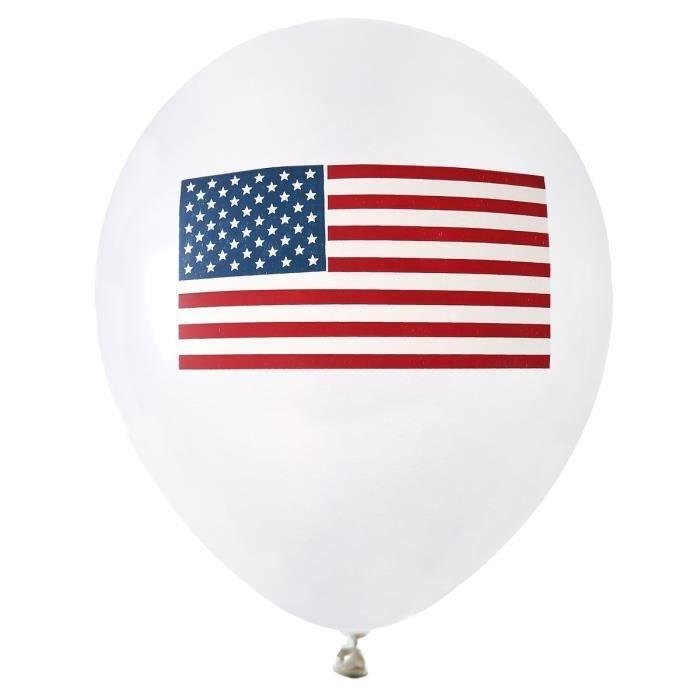 SANTEX Ballon Amérique tricolore