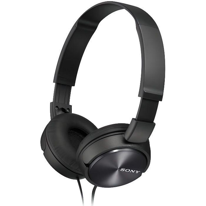 SONY - MDRZX310APB Casque arceau téléphonie noir