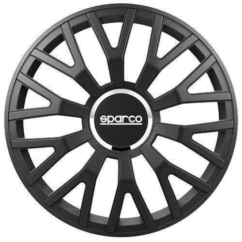 SPARCO Lot de 4 Enjoliveurs Leggera Pro 15'' - Noir mat