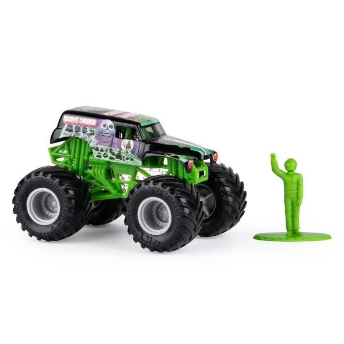 Spin Master Monster Jam camion-citerne Grave Digger 10 cm vert