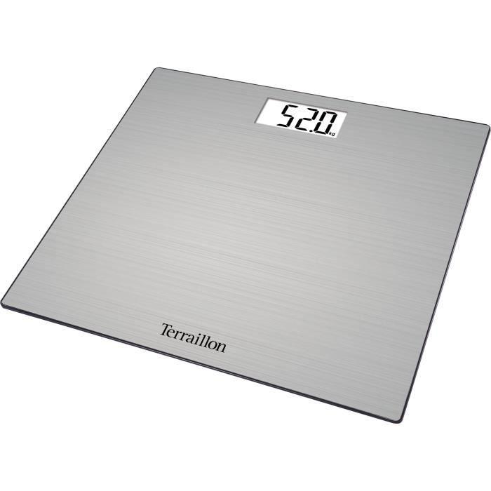 Pèse personne électronique Inox Touch