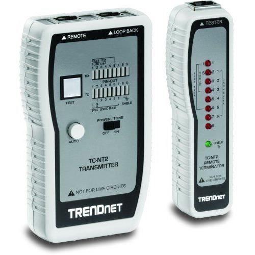 Testeur Professionnel Pour Cble De Réseaux Avec Génératrice Audio Tc-Nt2