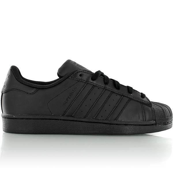 Adidas superstar noir taille 38 2/3 - Achat / Vente basket ...