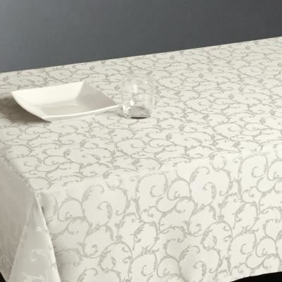 nappe anti tache 140x240cm blanche achat vente nappe de table cdiscount. Black Bedroom Furniture Sets. Home Design Ideas