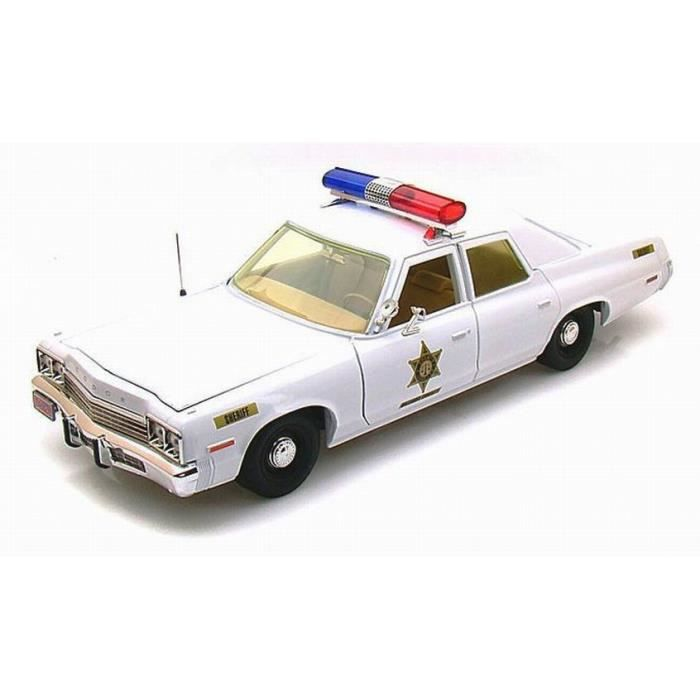 v hicule dodge monaco police sheriff fais moi peur rosco dukes of hazzard 1 18 achat vente. Black Bedroom Furniture Sets. Home Design Ideas