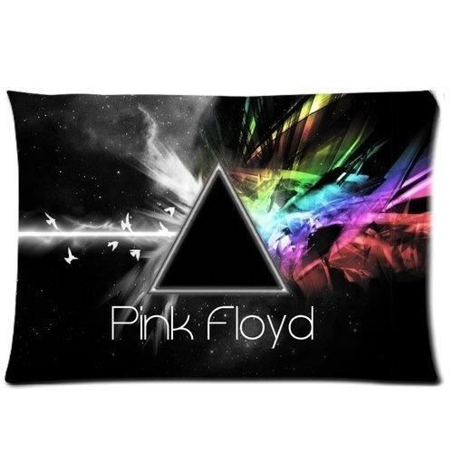 Gh019gggg 1 Colore Pink Floyd Rectangle Taie 20x30 Deux Cotes Id 203