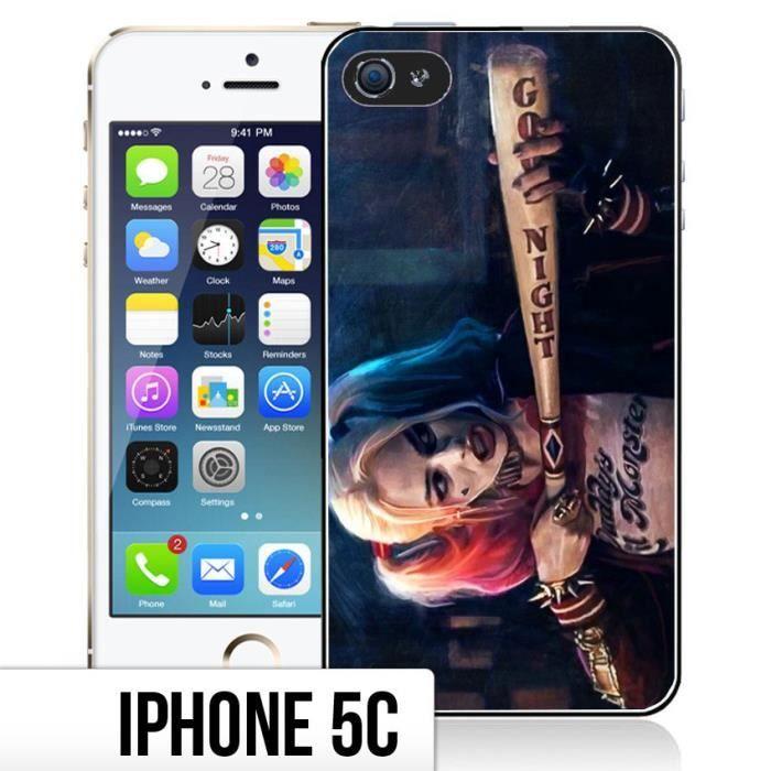 Coque iPhone 5C Harley Quinn - Suicide Squad