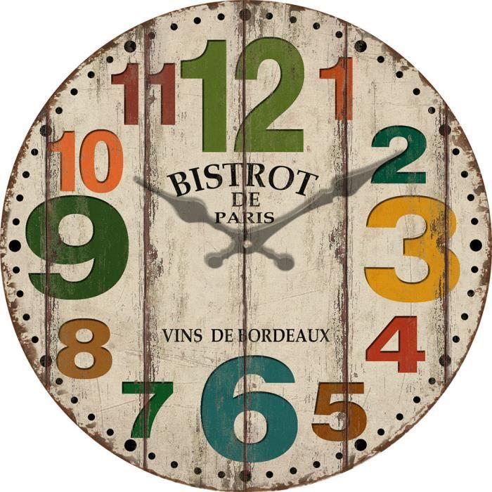 30cm Horloge Murale Design Horloge Murale Silencieuse Pendule