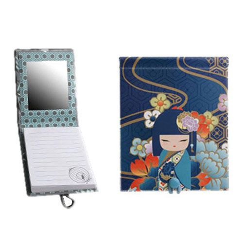 petit carnet de note avec miroir kimmidoll mamiko achat vente carnet de notes petit carnet. Black Bedroom Furniture Sets. Home Design Ideas
