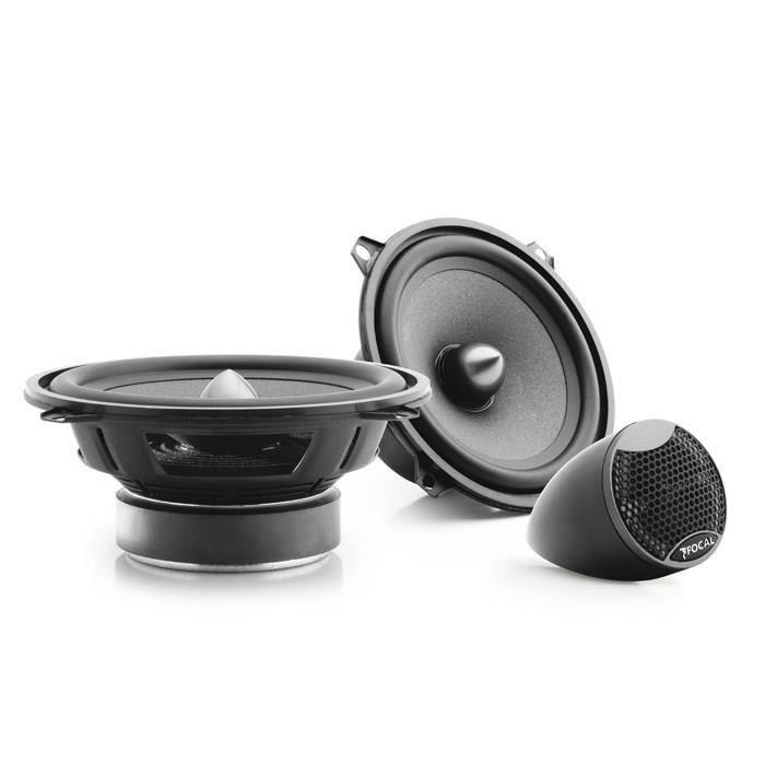 SINUSTEC Set Complet de Haut-parleurs Avant et arri/ère pour BMW 13 cm//130 mm