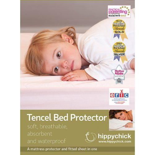hippychick tencel prot ge matelas lit evolutif bleu p le achat vente protection matelas. Black Bedroom Furniture Sets. Home Design Ideas