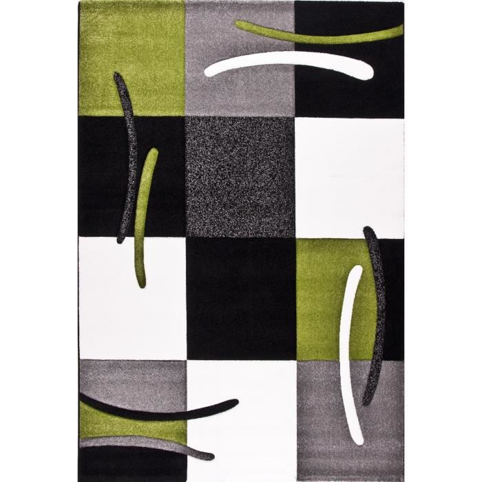 jazz tapis de salon vert 120x170 cm achat vente tapis 100 polypropyl ne cdiscount. Black Bedroom Furniture Sets. Home Design Ideas