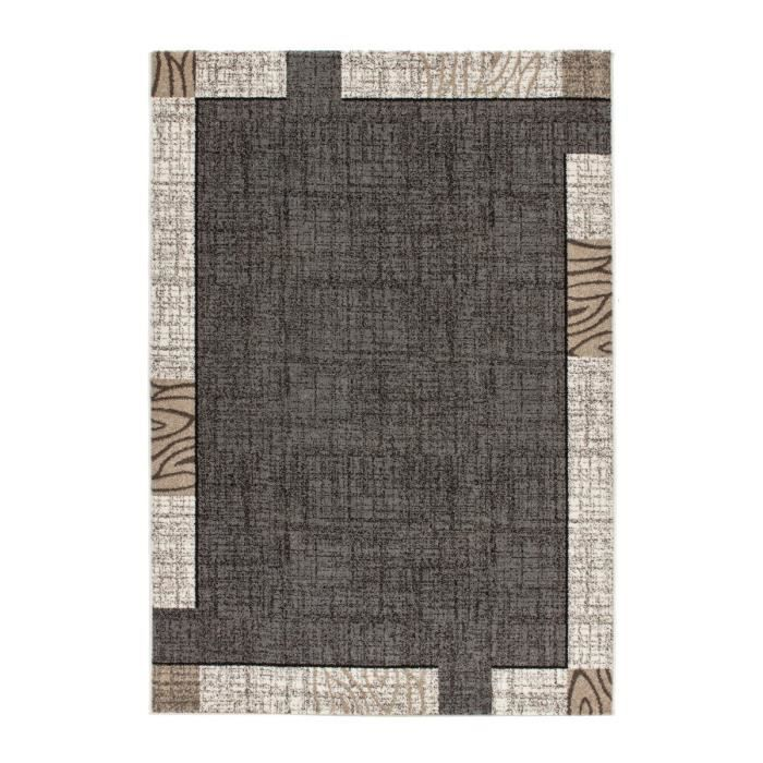 mondo tapis de salon gris 120x170 cm achat vente tapis cdiscount. Black Bedroom Furniture Sets. Home Design Ideas