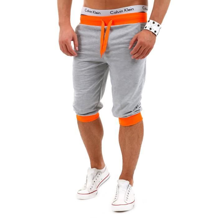 short en jogging homme