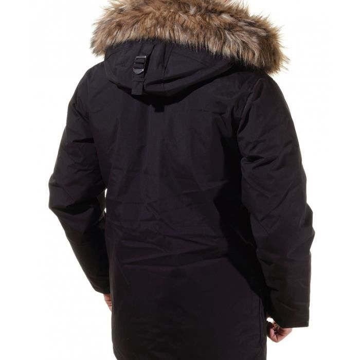 parka homme schott iceberg cou noir achat vente. Black Bedroom Furniture Sets. Home Design Ideas
