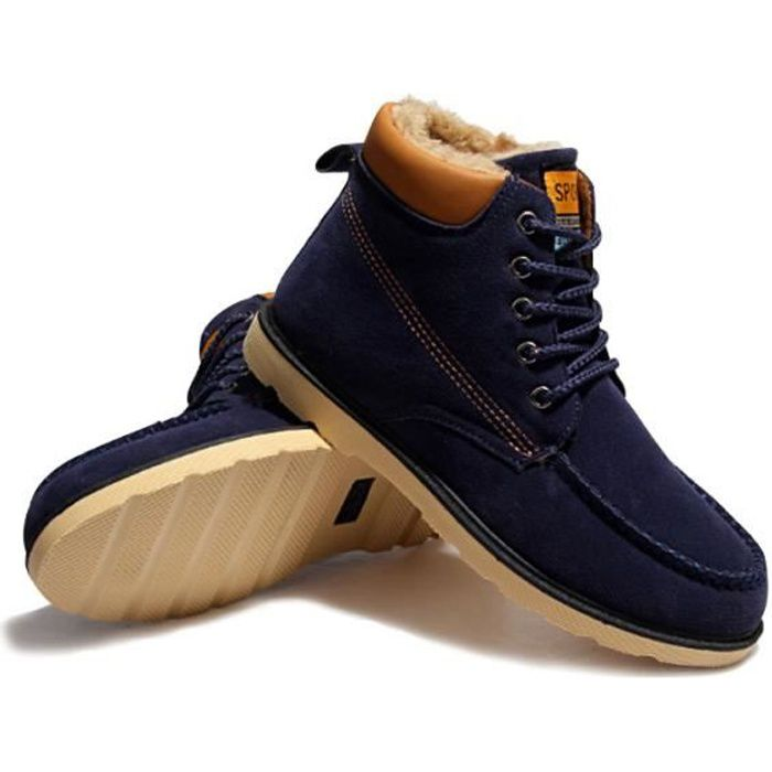 Chaussures montantes en cuir MUSTANG 4875-604 neuf