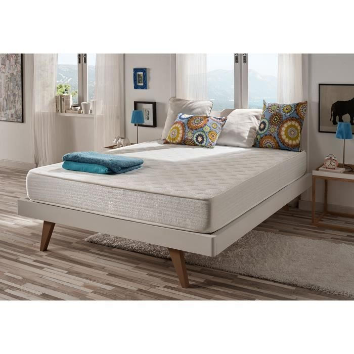 matelas pais optisoft 140x200 cm en blue latex mousse m moire naturalex achat vente. Black Bedroom Furniture Sets. Home Design Ideas