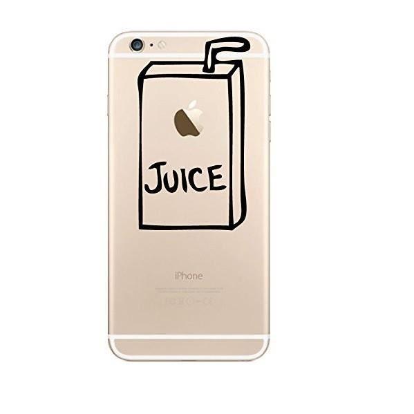 coque silicone iphone 6 6s plus juice fun appl