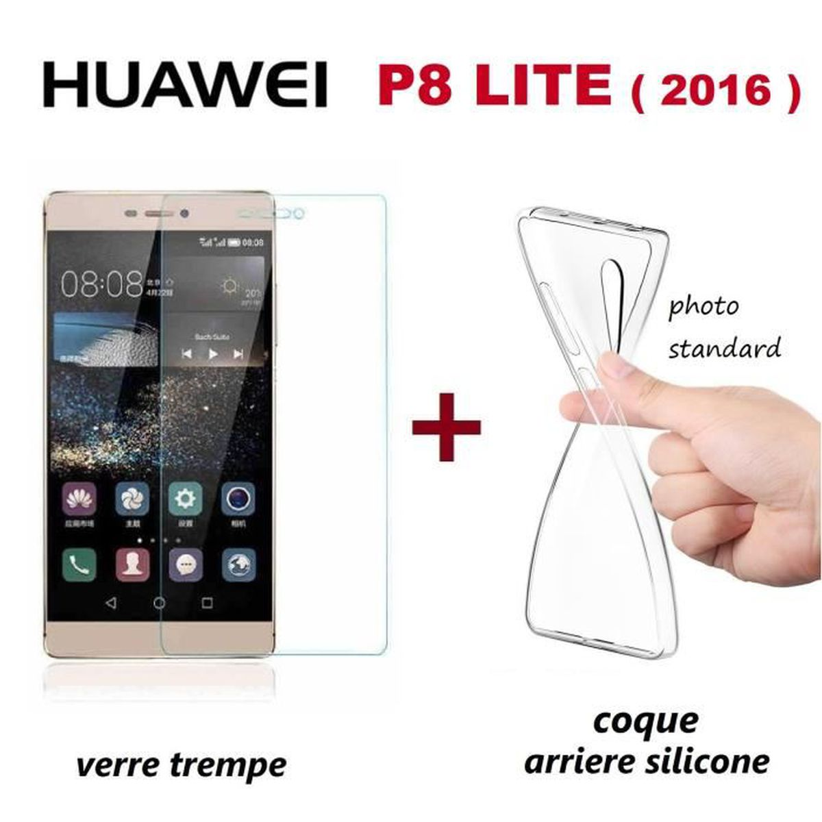 huawei p8 lite 2016 coque silicone