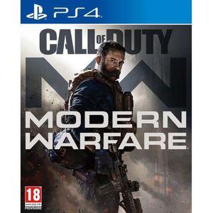 JEU PS4 CALL OF DUTY Modern Warfare Jeu PS4 + 1 Skull Stic