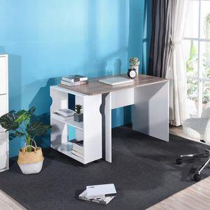 BUREAU  Aingoo Bureau, bureau informatique - Avec étagère