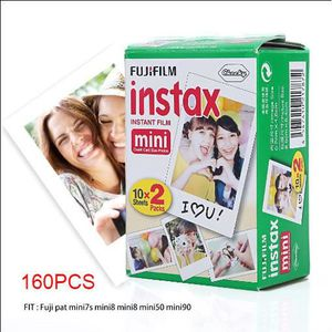 PAPIER PHOTO INSTANTANE Fujifilm Instax Mini Film - Lot de 8x 20 films pou