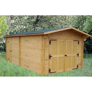 GARAGE Garage 24,23m² en bois massif