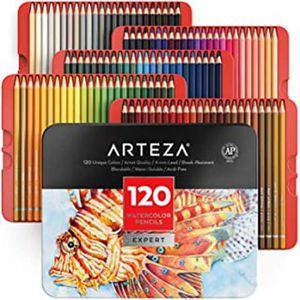 ARTEZA professionnel Crayons Aquarelle-Set de 72NEWSEALEDqikshipUkseller