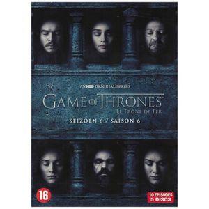 DVD SÉRIE Game Of Thrones - Le Trone de Fer Saison 6 (DVD)