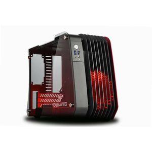BOITIER PC  ENERMAX Boîtier PC SteelWings - micro-ATX aluminiu