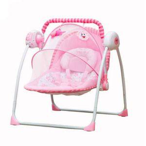 TRANSAT Chaise à bascule pour bébé Lit électrique pour béb