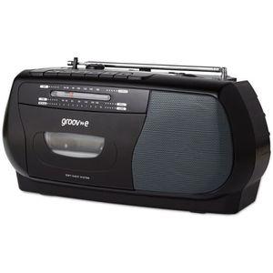 RADIO CD CASSETTE Groov-e GVPS575BK Enregistreur De Lecteur De Casse