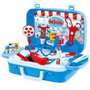 DOCTEUR - VÉTÉRINAIRE Malette du docteur 22 x 24 cm jouet valise set med