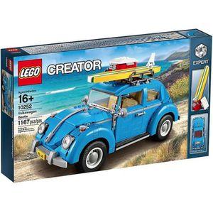 ASSEMBLAGE CONSTRUCTION LEGO® CREATOR 10252 La Coccinelle VW Kaefer Bleu