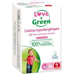 Love And Green 30 Couches écologiques Hypoallergéniques 0 Taille 4