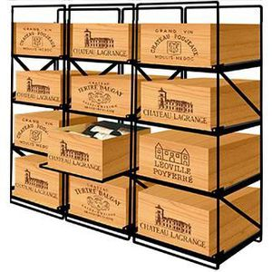 MEUBLE RANGE BOUTEILLE MODULORACK - La seule solution pour stocker 12 cai