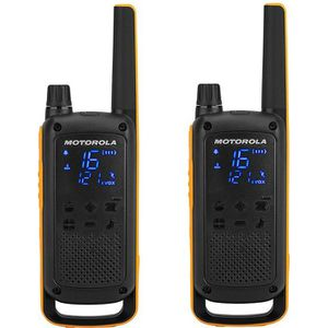 TALKIE-WALKIE MOTOROLA Pack de 2 Talkies Walkies Radios T82 EXTR