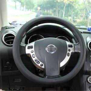 rouge Caches de volant silicone antid/érapant Housse de volant de voiture D/écoration de voiture Housse de volant silicone hautement /élastique pour Tout Type de Volants