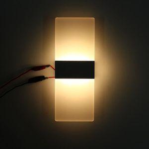 APPLIQUE  6W Applique Murale Interieur Moderne 24LED Lampe É