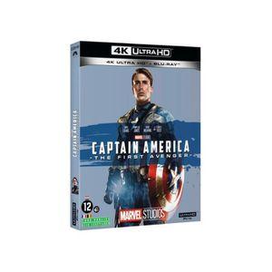 BLU-RAY FILM Captain America : First Avenger [Combo Blu-Ray, Bl