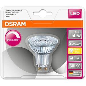 AMPOULE - LED OSRAM Ampoule Spot LED PAR16 GU10 4,6 W équivalent