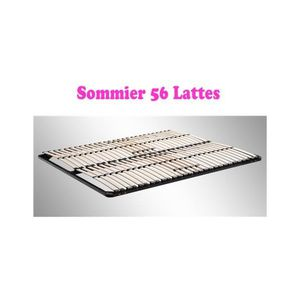 sommier lattes 140x200 achat vente sommier lattes. Black Bedroom Furniture Sets. Home Design Ideas