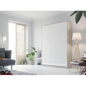 LIT ESCAMOTABLE SMARTBett Standard 140x200 vertical chêne Sonoma /