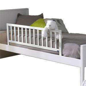 BARRIÈRE DE LIT BÉBÉ Barrière de lit enfant 120 Noé  Blanc