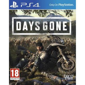 JEU NINTENDO SWITCH Days Gone PS4 + 1 Skull Sticker + 1 Porte clé