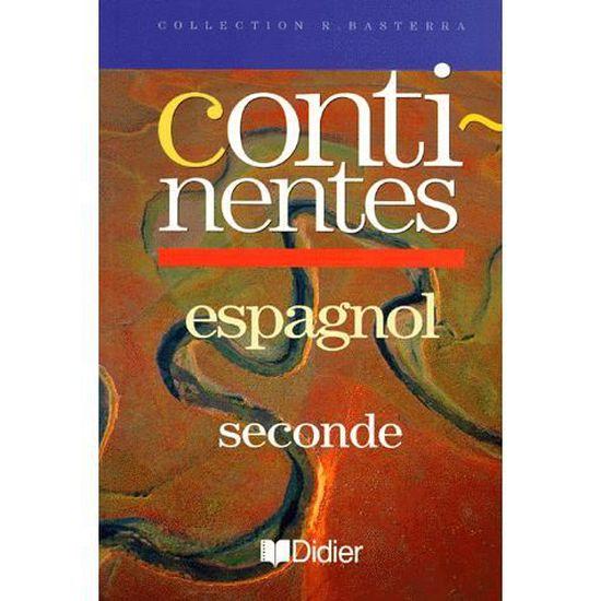 Espagnol 2nde Continentes