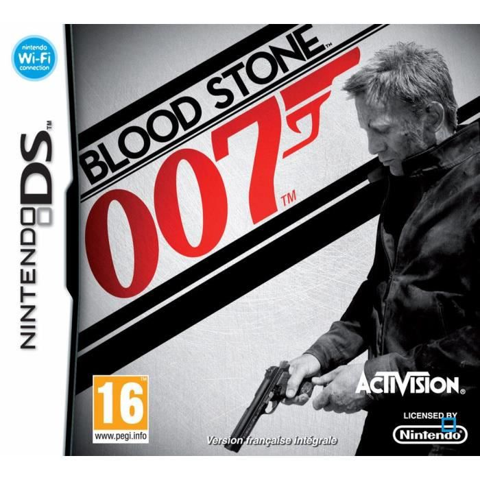 JEU DS - DSI JAMES BOND BLOOD STONE / Jeu console DS