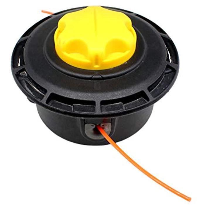 Tête de coupe à double fil avec bobine automatique Easy Load pour débroussailleuse Fuxtec à essence