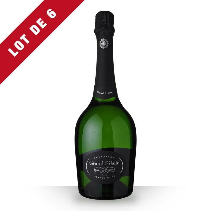 6X Laurent-Perrier Grand Siècle Brut 75cl - Champagne