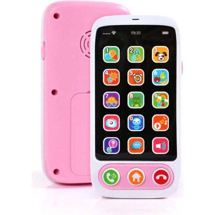 Jouet téléphone mobile musique téléphone mobile multifonctionnel infantile éducation de la petite enfance jouets éducatifs bébé télé